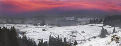 En marzo-abril después de un invierno Imagen de archivo libre de regalías