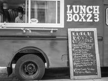 En matlastbil Fotografering för Bildbyråer