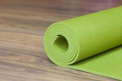 En matt yoga Arkivfoton