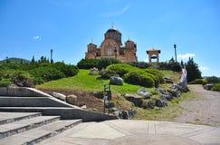 En medeltida kyrka för bilder i Trebinje Herzegovacka Gracanica arkivfoto