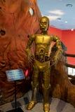 En mekaniker som visas i Ripley'sen ', tror den eller inte! 'Museum royaltyfria bilder