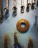 En mekanikervärld Arkivbilder
