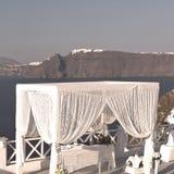 en mer d'anniversaire de l'Europe d'île de la Grèce de santorini et de m Photos libres de droits