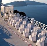 en mer d'anniversaire de l'Europe d'île de la Grèce de santorini et de m Images stock