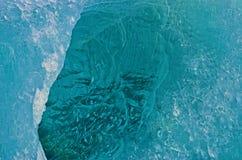 Is- is, en mer nära blick arkivbild