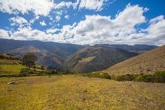 En Merida das montanhas andes venezuela fotografia de stock
