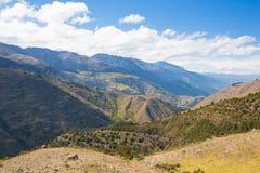 En Merida das montanhas andes venezuela foto de stock