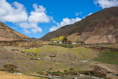 En Merida delle montagne andes venezuela immagine stock libera da diritti