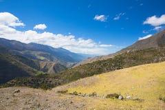 En Merida delle montagne andes venezuela fotografia stock