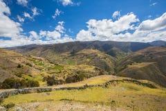 En Merida delle montagne andes venezuela immagini stock
