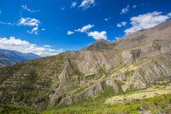 En Merida delle montagne andes venezuela fotografia stock libera da diritti