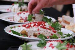En mexicano Nogada de Chile de la cocina Imagen de archivo libre de regalías