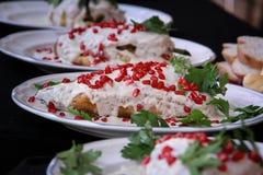En mexicano Nogada de Chile de la cocina Fotos de archivo libres de regalías