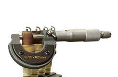 En mikrometer Royaltyfri Bild