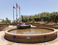 En minnesmärke för USS Arizona i Phoenix, Arizona Royaltyfri Fotografi