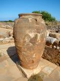 En Minoan amfora Royaltyfri Fotografi