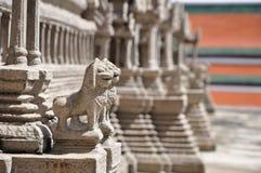 En modell av Angkoret Wat Royaltyfri Foto