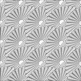 En modell av linjer sömlöst klotter vektor illustrationer