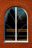 En modern arkitektur Royaltyfri Fotografi