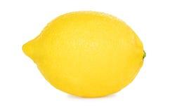 En mogen citron () fotografering för bildbyråer