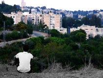 En mon monde gris Photo libre de droits