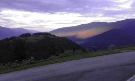 En montañas Imágenes de archivo libres de regalías