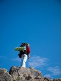 En montagne Photographie stock libre de droits