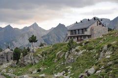 En montagnes Photo libre de droits