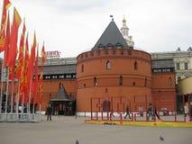 En monument av arkitektur i Moskva Arkivfoto