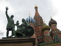 En monument av arkitektur i Moskva Royaltyfria Foton