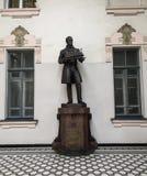 En monument i St Petersburg, Ryssland royaltyfri fotografi