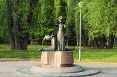 En monument till barnledaren Royaltyfri Fotografi