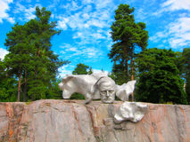En monument till Sibelius Arkivfoton