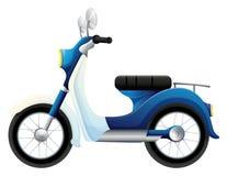 En moped vektor illustrationer