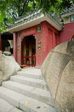 En-Mor tempel, Macao. Royaltyfria Bilder