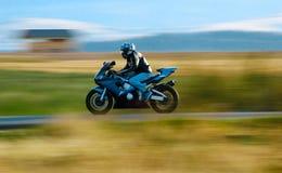 En motorcykel Royaltyfri Bild