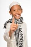 Muslimpojke Arkivfoton