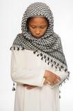 Muslimpojke Royaltyfri Bild