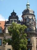en mycket gammal byggnad i Tjeckien Arkivbild