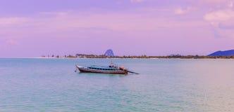 En mycket härlig panoramasikt av Ko Yao Yai öar, Phang Nga, royaltyfria bilder