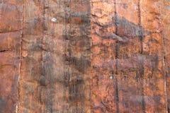 En närbild av en lantlig textur Royaltyfri Bild