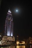 En natt Arkivfoton