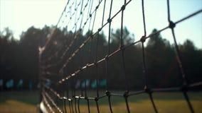 En netto bakgrund för volleybollen lager videofilmer