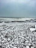 En New England vinter Arkivfoton