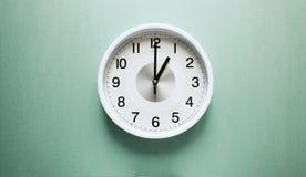 En nolla-`-klocka fotografering för bildbyråer