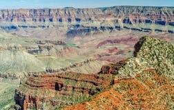 En norr Rim View av Coloradofloden i Grand Canyon av Arizona royaltyfria foton