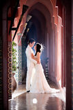 En novia y novio del amor Fotografía de archivo libre de regalías
