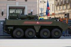 En ny armé för ryss för bepansrad personalbärare Royaltyfria Bilder
