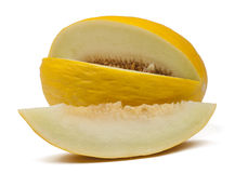 En ny och läcker melon Arkivfoton