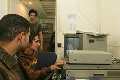 En oberoende irakisk TV-station, Cario Fotografering för Bildbyråer